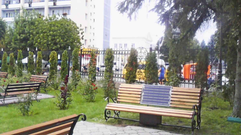 """Ми виготовили і встановили другу """"Solar bench"""" у Луцьку"""