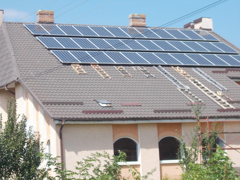 """Відео: Як встановити сонячну електростанцію вдома?  Запуск СЕС на 10 кВт під """"зелений тариф"""""""