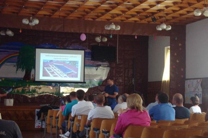 Відбувся семінар по альтернативній енергії в таборі Супутник на озері Світязь