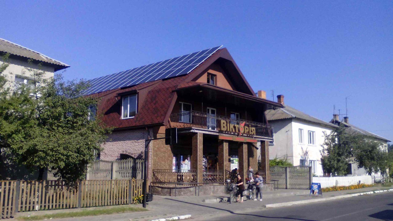 Сонячна електростанція в смт. Колки