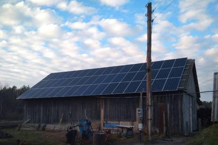 Мережева сонячна електростанція в с.Граддя
