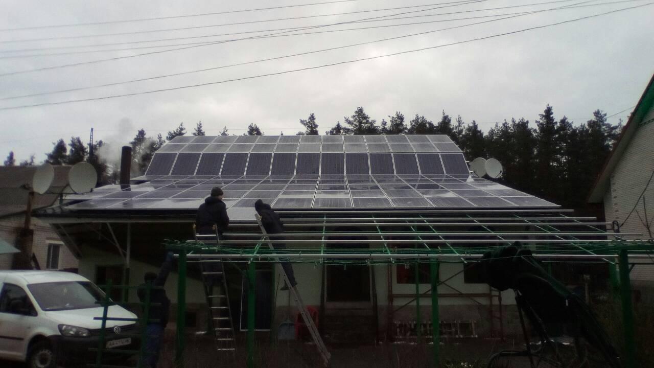 Споруджено СЕС на 30 кВт в Маневичах