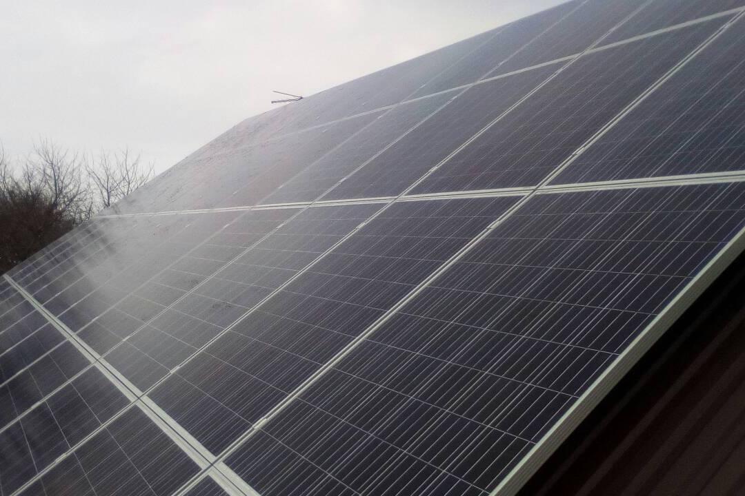 Мережева сонячна електростанція у с. Прилуцьке