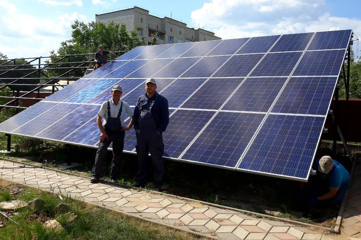 Мережева сонячна станція під «зелений» тариф у Любленці