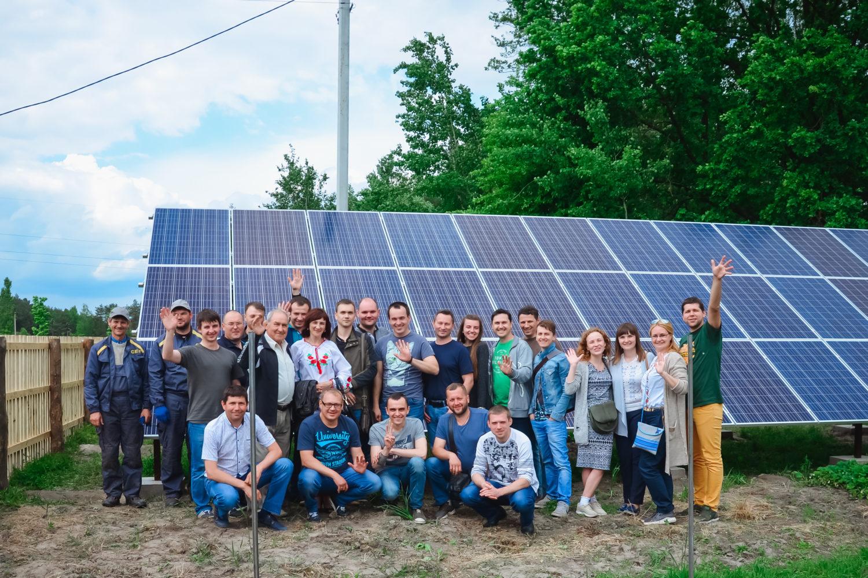 Алгоритм дій для реалізації проекту встановлення сонячної електростанції (СЕС) на території приватного домогосподарства