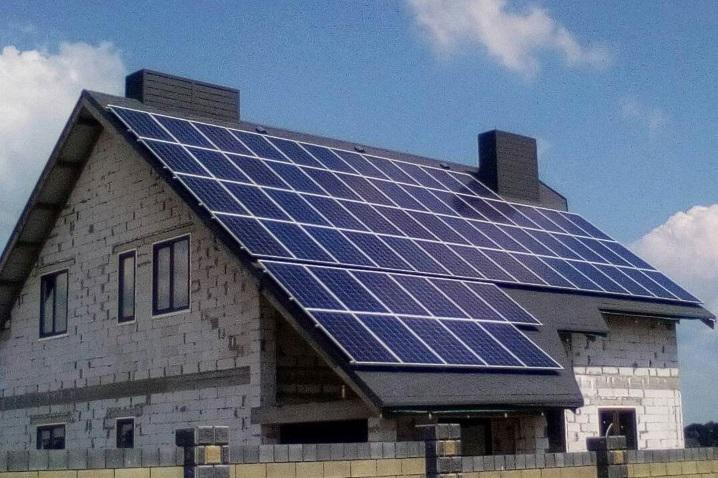 Мережева сонячна електростанція у селі Боголюби