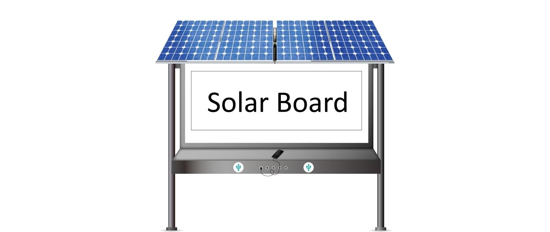 Новий практичний «сонячний» виріб – Solar Board
