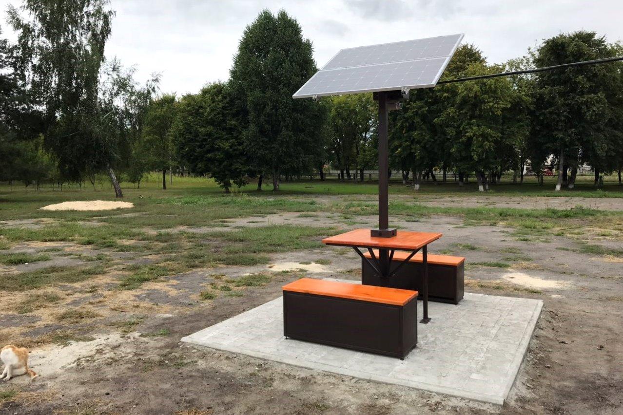 Solar Place від SETech на Черкащині
