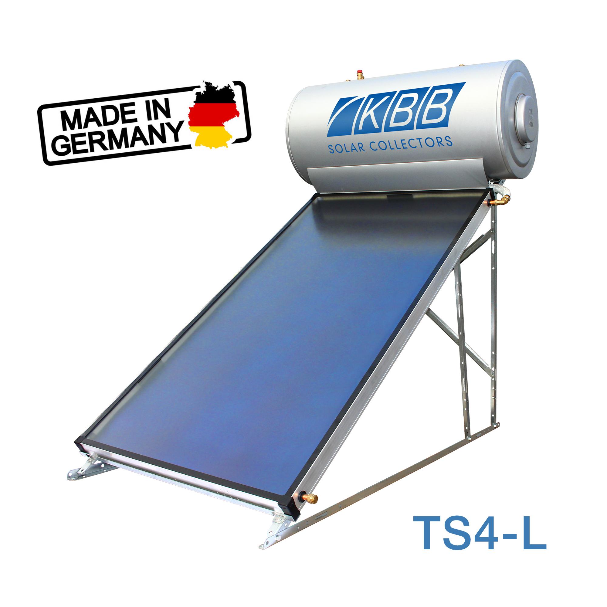 Термосифонна система нагрівання води KBB TS4-L 200 літрів