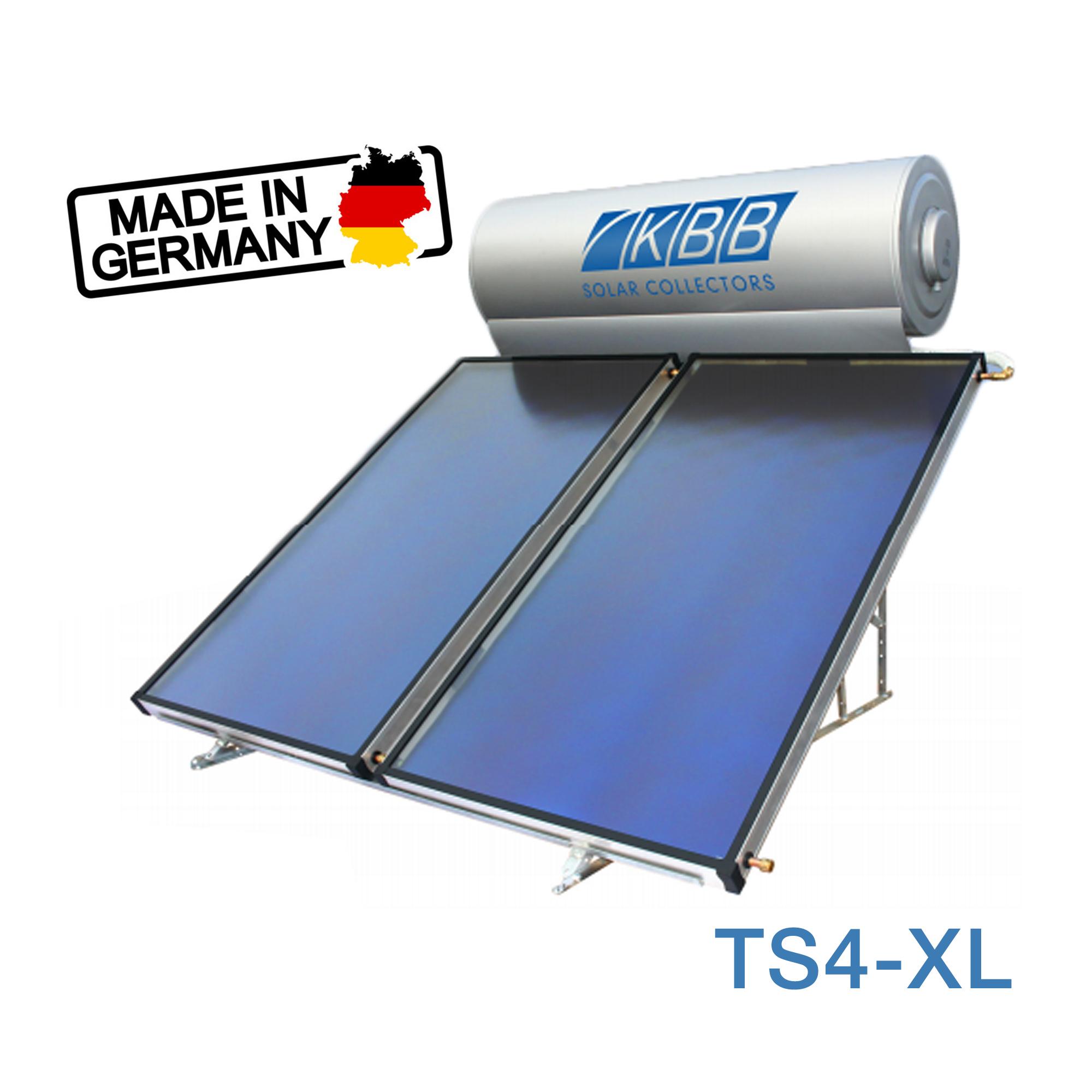 Термосифонна система нагрівання води KBB TS4-XL 300 літрів
